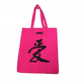 Pink shopper