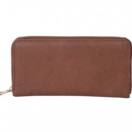 brun pung med stjerner med plads til kort