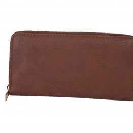 brun pung med plads til kort