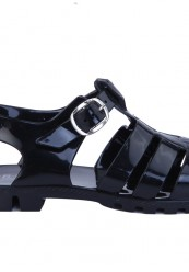 Sorte bade sandaler
