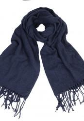 Marineblå Strik halstørklæde