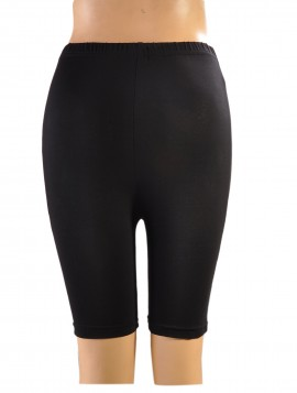 sort cykel-shorts S/M