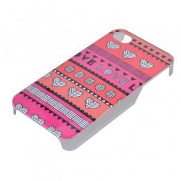 pink cover med mønster